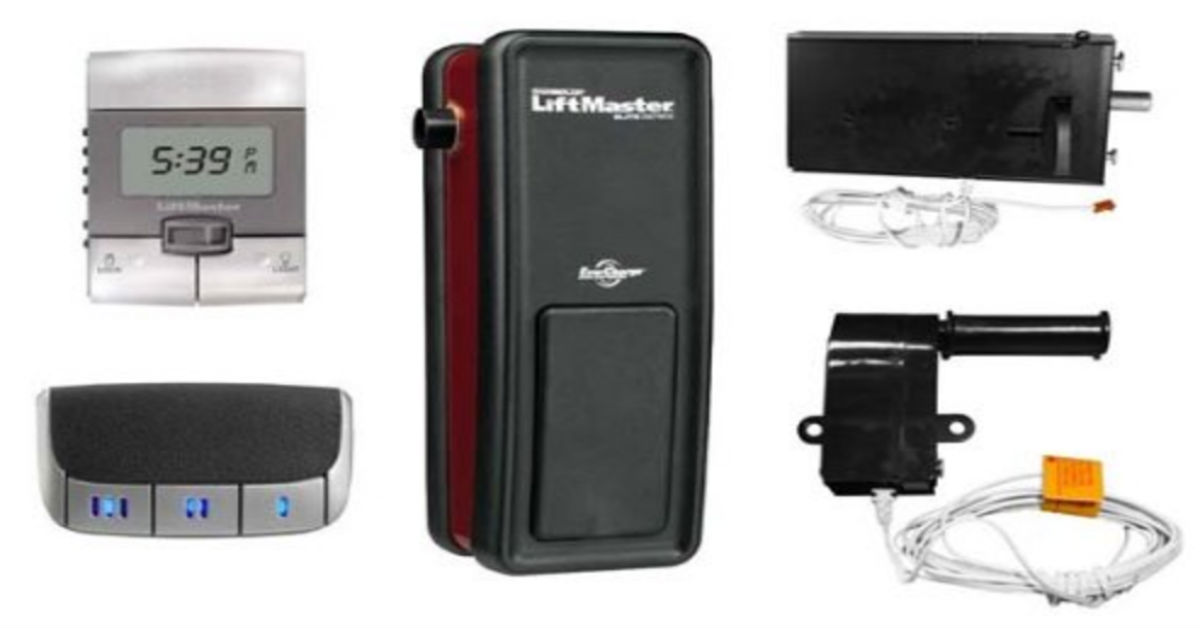 Liftmaster 8500 Garage Door Opener Installation Garage