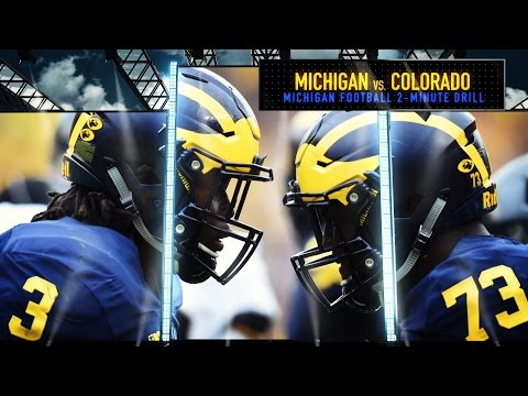 Ann Arbor Michigan Wolverines Vs Buffaloes Garage Door